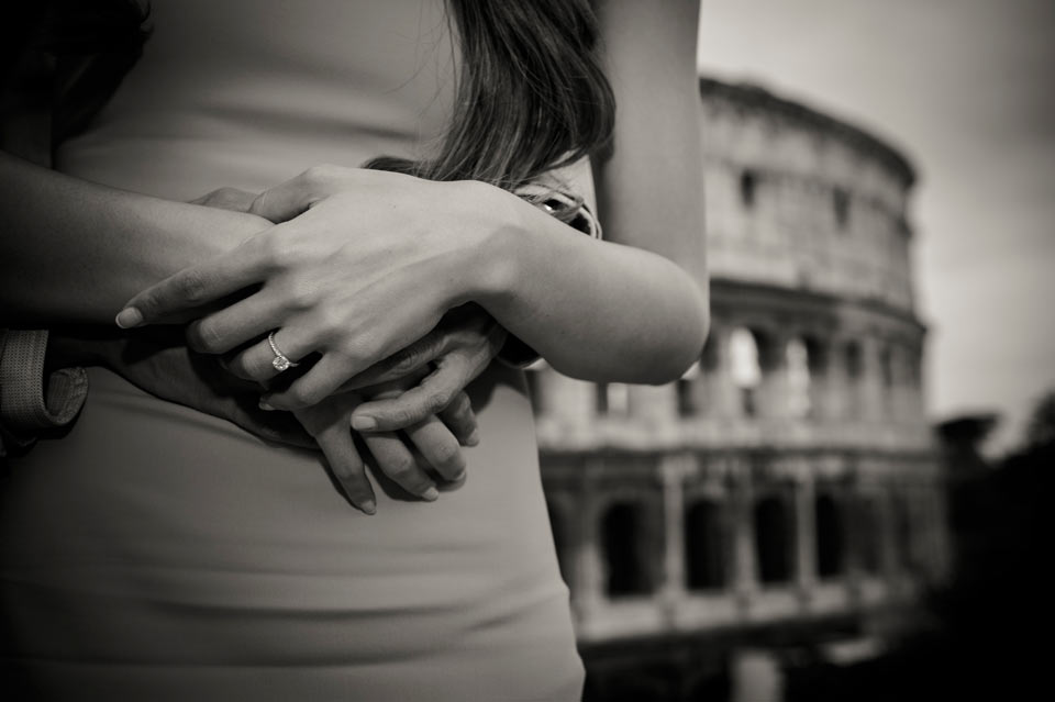 proposal photography Rome
