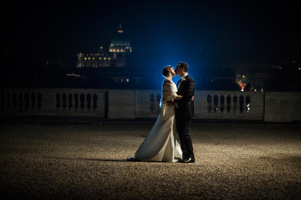 wedding photographer rome Villa Borghese Park