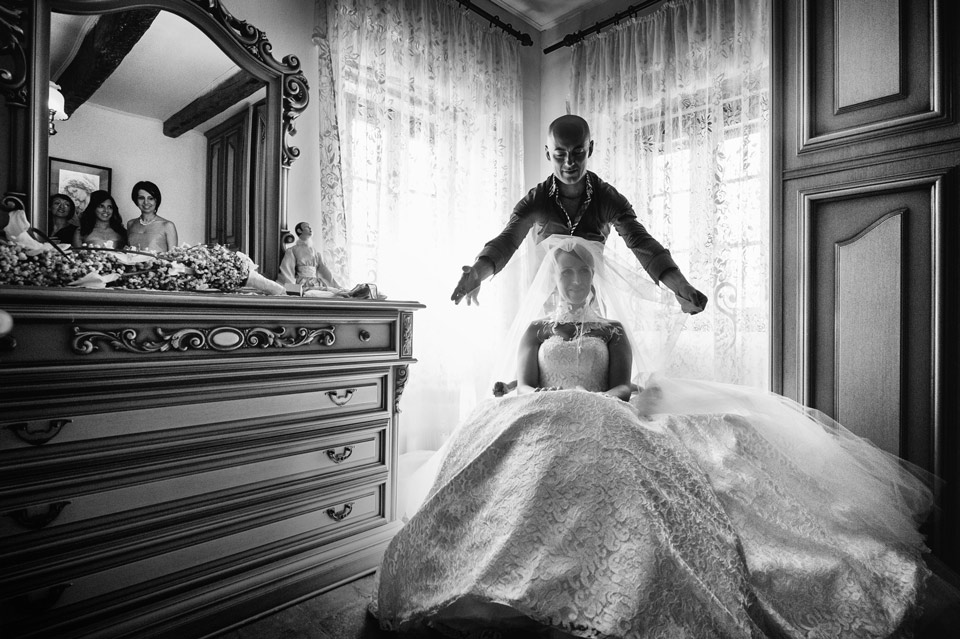 Award wedding photo in Le Marche